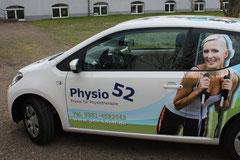 Fahrzeugbeschriftung Physiotherapie Knott, Dresden