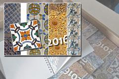 Kalendergestaltung, portugiesische Motive
