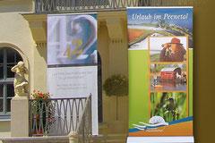 Banner- und RollUp Gestaltung, Uhrenmuseum Glashütte, Abenteuer Flusslandschaft, Anklam