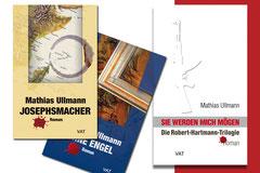 Buchcovergestaltung für Mathias Ullmann, Dresden
