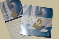 """Ausstellungskatalog """"42"""", Ausstellungskommunikation, Uhrenmuseum Glashütte"""
