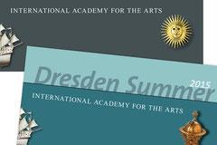 "Gestaltung, Layout, Satz - ""Dresden Summer"", Sächsische Kunstsammlungen Dresden"