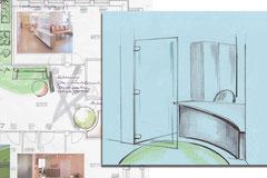 Praxisausgestaltung - Raumkonzept, Raumorientierung, Optimierung von Arbeitsabläufen, Lungenarztpraxis, Dresden