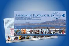 Kommuniaktions- und Werbemittelerstellung für Flatanger Sportsfiske · Norway (z.B. Flyer)
