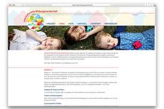 Internetauftritt: Interkulturelle Bildungslandschaft