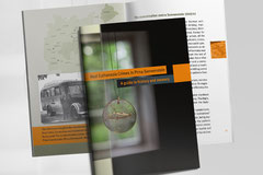 """Covergestaltung, Layout und Satz der Broschüre """"Nazi Euthanasia Crimes in Pirna-Sonnenstein"""" für die Stiftung Sächsische Gedenkstätten / Gedenkstätte Pirna-Sonnenstein"""