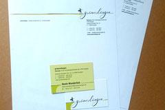 gründerdüngen: Logoerstellung und Geschäftsausstattung