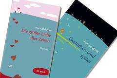 Covergestaltung für die Bücher von Hans Zengeler