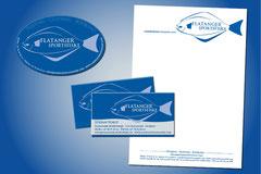 Kommuniaktions- und Werbemittelerstellung für Flatanger Sportsfiske · Norway (z. B. Geschäftsausstattung, Aufkleber)