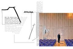 Typografische Raumgestaltung, Kongresszentrum Dresden