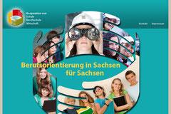 Webdesign Plattform zur Berufsorientierung Klasse 8 und 9, Dresden, www.plattform-zur-berufsorientierung.de