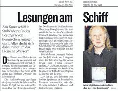 Kleine Zeitung Hartbergerland 19.07.2011