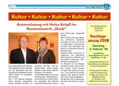 """""""aus der Marktgemeinde St. Michael"""" 4/2007"""