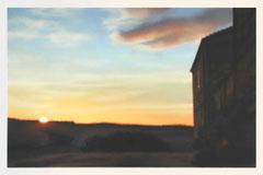 o.T. (Val d´Orcia), Öl auf Leinwand, 190x130cm, 2007