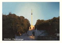 o.T. (München- Friedensengel), Öl auf Leinwand, 100x70cm, 2005