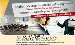 Nous organisons votre seminaire d'entreprises dans un cadre exceptionnel.