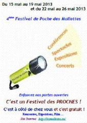 Affiche 4ieme Festival de Poche 2013