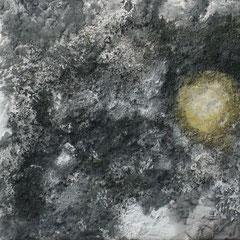 1000-jähriges Ei - Acryl auf Leinwand - 40 x 40 - 2009