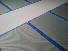 新畳・い草国産綿麻W上級・寺院用紋縁