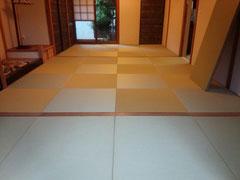 リフォーム・ダイケン清流カクテルフィット銀白色×若草色
