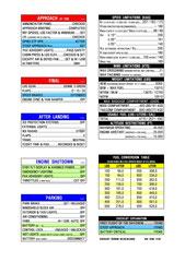 Großansicht - Normal Checklist C525B - Rückseite