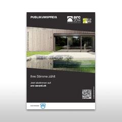 "Kunde: Docu Media Schweiz GmbH /Auftrag: Inserat ""Arc-Award 2014"""