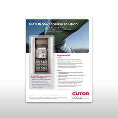 "Kunde: Gutor by Schneider Electric / Auftrag: Inserat ""SSR Pipeline solution"""