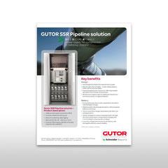 """Kunde: Gutor by Schneider Electric / Auftrag: Inserat """"SSR Pipeline solution"""""""