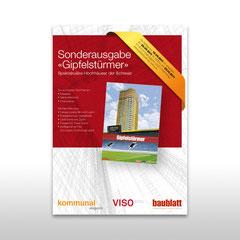 """Kunde: Docu Media Schweiz GmbH / Auftrag: Inserat für die Sonderausgabe """"Gipfelstürmer"""""""