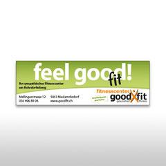 Kunde: Fitnesscenter Goodfit / Auftrag: Inserat Imagemotiv