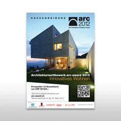 "Kunde: Docu Media Schweiz GmbH / Auftrag: Inserat ""Arc-Award 2012"""