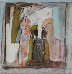 wood burning stove   -     gouache on canvas   -     20x20 cm    -    2008