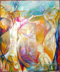 farewell  -  oil on canvas  -  140x160 cm  -  2002