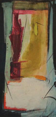 head   -      gouache on canvas    -    20x40 cm    -    2008