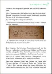 Auszug aus dem Bruderschaftsbuch von 1470, Gründungsdatum 1408