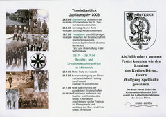 Flyer zum Fest