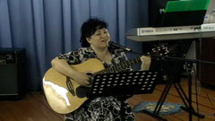 Пою в церкви на воскресном служении 20.05.12