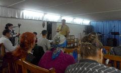 На собрании