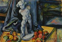 après Cézanne, L'Amour en plâtre