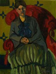 après Cézanne, Portrait de Madame Cézanne