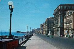 Naples en 1966 : peu de voitures