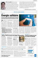 EDF - Publi-rédactionnels presse quotidienne régionale / Limousin /solidarité- printemps 2003 <a href=http://cargnelli.jimdo.com/index-des-entreprises/edf/publi-r%C3%A9dactionnels-pqr> cliquer ICI pour lire/voir les documents