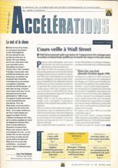 Accélérations - lettre corporate Crédit Lyonnais - mars 1995<a href=http://cargnelli.jimdo.com/index-des-entreprises/crédit-lyonnais/accélérations> cliquer ICI pour lire/voir les articles </a>