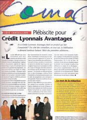 Comac - magazine interne Crédit Lyonnais - novembre 1998<a href=http://cargnelli.jimdo.com/index-des-entreprises/cr%C3%A9dit-lyonnais/comac> cliquer ICI pour lire/voir les articles </a>