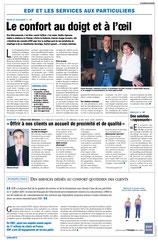 EDF - Publi-rédactionnels presse quotidienne régionale / Limousin /services confort- printemps 2003 <a href=http://cargnelli.jimdo.com/index-des-entreprises/edf/publi-r%C3%A9dactionnels-pqr> cliquer ICI pour lire/voir les documents