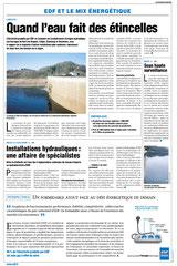 EDF - Publi-rédactionnels presse quotidienne régionale / Limousin /énergie hydraulique - printemps 2003 <a href=http://cargnelli.jimdo.com/index-des-entreprises/edf/publi-r%C3%A9dactionnels-pqr> cliquer ICI pour lire/voir les documents