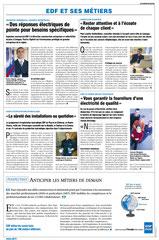 EDF - Publi-rédactionnels presse quotidienne régionale / Limousin /métiers- printemps 2003 <a href=http://cargnelli.jimdo.com/index-des-entreprises/edf/publi-r%C3%A9dactionnels-pqr> cliquer ICI pour lire/voir les documents