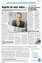 EDF - Publi-rédactionnels presse quotidienne régionale / Limousin /préservation de l'environnement - printemps 2003 <a href=http://cargnelli.jimdo.com/index-des-entreprises/edf/publi-r%C3%A9dactionnels-pqr> cliquer ICI pour lire/voir les documents