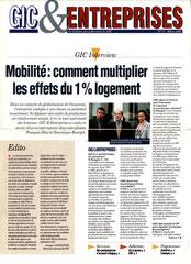 Gic & entreprises n° 17 - magazine clientèle/institutionnel - mars 1996 <a href=http://cargnelli.jimdo.com/index-des-entreprises/gic-1-logement/gic-et-entreprises> cliquer ICI pour lire/voir les articles </a>