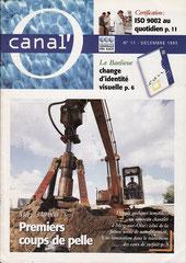 Canal O - magazine interne CGE - décembre 1995 <a href=http://cargnelli.jimdo.com/index-des-entreprises/cge/canal-o> cliquer ICI pour lire/voir les articles </a>